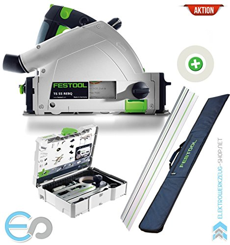 Preisvergleich Produktbild Festool AKTION: Tauchsäge TS 55 REBQ-Plus-FS / 561580A