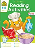 School Zone - Reading Activities Workbook - 64 Pages, Ages 6 to 8, 1st Grade, 2nd Grade, Comprehension, Comparing, Contrasting, Evaluating, and More (School Zone I Know It! Workbook Series)