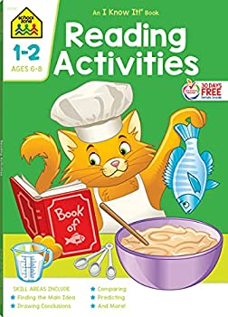 School Zone - Reading Activities Workbook - 64 Pages Ages 6 to 8 1st Grade 2nd Grade Comprehension Comparing Contrasting Evaluating and More  School Zone I Know It!® Workbook Series