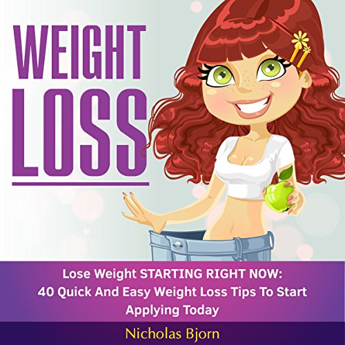Weight Loss: Lose Weight Starting Now audiobook cover art