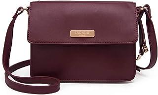 cac6cdd8d4 Angkorly - Sac à main Pochette et Clutche en bandoulière Mini sac cuir  lisse clouté moderne