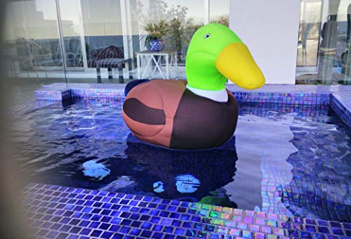 Giant Duck Bean Bag, Pool Floats, Best Floating Pool Toys for Kids, Not Inflatable Floats, Swimming Pool Toys Floats for Kids, Water Float, Ride-on Floats, Pool Toys for Pool Party, Fun Beach Toys