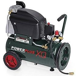 POW XQ8105 electric compressor 10bar, 24 liter tank