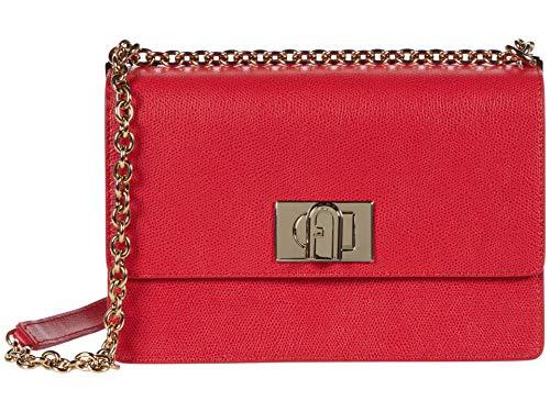 Furla 1927 - Tracolla piccola 24, rosso (Rubino), Taglia unica