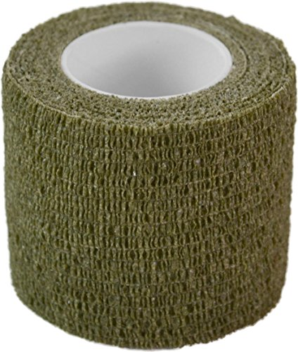 normani Outdoor Tarnband selbsthaftend 5 cm x 4,5 m Farbe Oliv