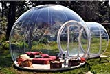 LIVIQILY Stargaze Outdoor Single Tunnel Inflatable Bubble Camping Tent (X-Large)