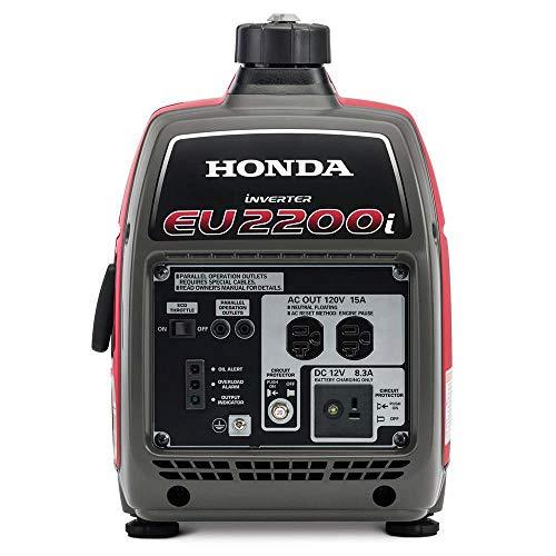 Product Image 2: Honda 662220 EU2200i 2200 Watt Portable Inverter Generator