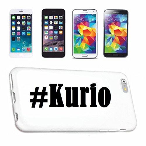 Bandenmarkt telefoonhoes compatibel met Huawei P9 Hashtag #Kurio in Social Network Design Hardcase beschermhoes mobiele telefoon cover Smart Cover