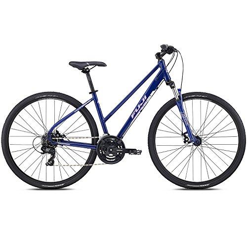 Fuji 28 Zoll Crossrad Traverse 1.9 ST Cross Terrain Damen MTB Mountainbike, Rahmengrösse:48 cm, Farbe:Dark Blue