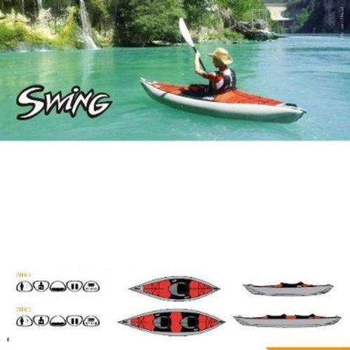 #MIGLIOR SCELTA - Kayak Gumotext Swing 2
