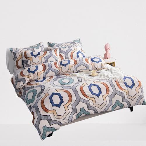 Ropa De Cama, Textiles para El Hogar, Funda Nórdica Funda De Almohada, Simple, Atmosférica, Duradera Y Fácil De Limpiar 220x240cm