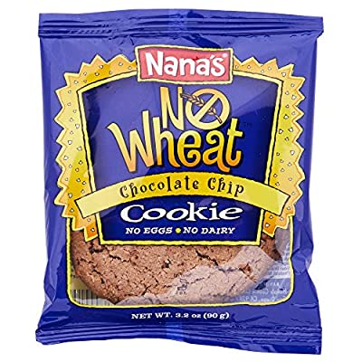Nana's Single Serve Cookies, 3.5-Ounce Packages (Pack of 12)