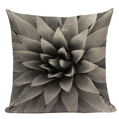 Almohada de Almohada de Estilo Simple Almohadas Decorativas geométricas para sofá Casas Casas Black White Woven Woven Funda de Almohada-U_6pc
