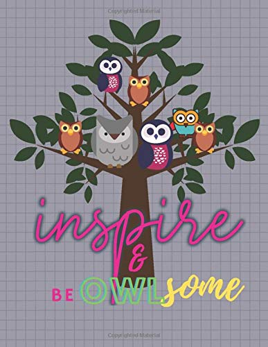 Inspire and be OWLsome: 14 WEEK GOAL PLANNER UNDATED START MONDAY OWL COVER DESIGN (Planners&Diaries, Band 5)