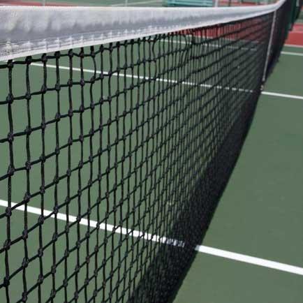 Carrington Calidad Suprema - Red de Tenis Club Negra 3 mm