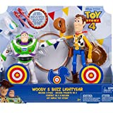 Toy Story 4 Woody and Buzz Lightyear Arcade 2 Figuras Pack...