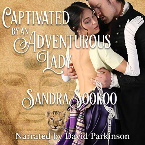 Captivated by an Adventurous Lady  audiobook cover art