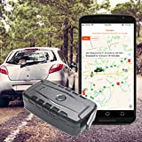GPS Tracker for Vehicles, Magnetic GPS Tracker with Battery, Water Resistant, Cars Trucks