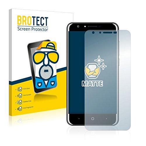 BROTECT 2X Entspiegelungs-Schutzfolie kompatibel mit Doogee Y6C Bildschirmschutz-Folie Matt, Anti-Reflex, Anti-Fingerprint