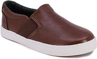 Kid's Slip-On Casual Shoe Athletic Sneaker -...