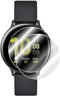 IPG for Samsung Galaxy Watch Active 2 / Active 2 Aluminum 44mm Screen Protector (2 Units) Invisible Ultra HD Clear Film An...