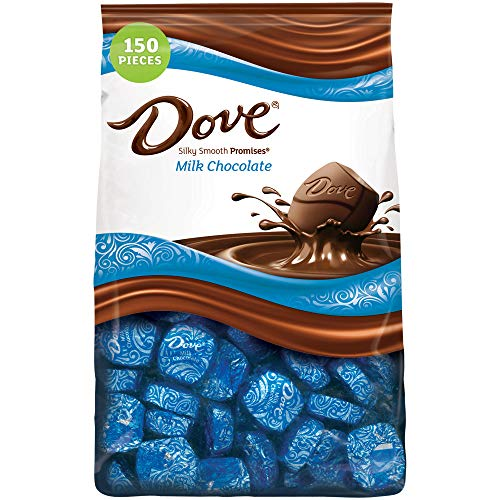 Dove Promises Milk Chocolate Candy, 43.07-Ounce 150-Piece Bag