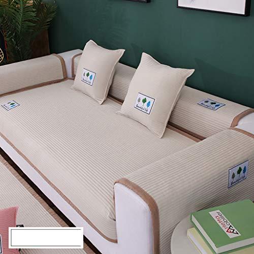 Sofa Handtuch, Vier Jahreszeiten Antirutsch Sofabezug Abwaschbar Sofamöbel Protector Für Haustier Hund Sofa Abdeckung-C-90 * 120cm