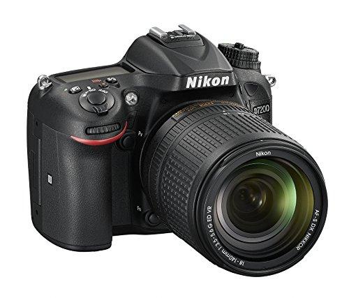 Nikon D7200Digitale Spiegelreflexkamera, 24,72Megapixel, integriertes WiFi, NFC, SD 8GB, 200x Premium Lexar, Farbe: schwarz