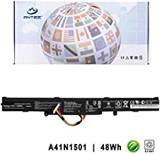 ANTIEE 15V 48Wh 3200mAh A41N1501 Laptop Battery for ASUS ROG GL752 GL752V GL752VW-DH71 GL752VL GL752JW N552V N552VX N552VW N752V N752VW N752VX-GC131T GC105D GC234T GC190T GC105T GC106D GC128T GC212T