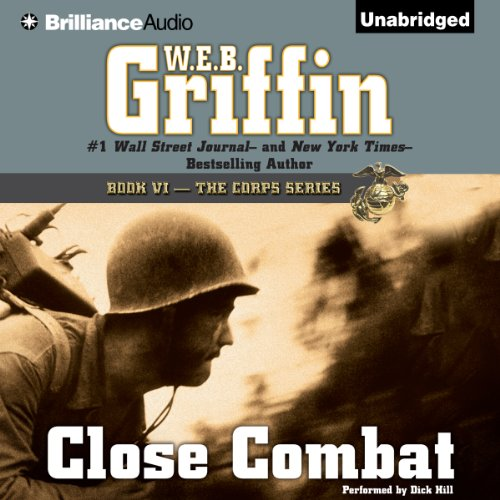 Close Combat audiobook cover art