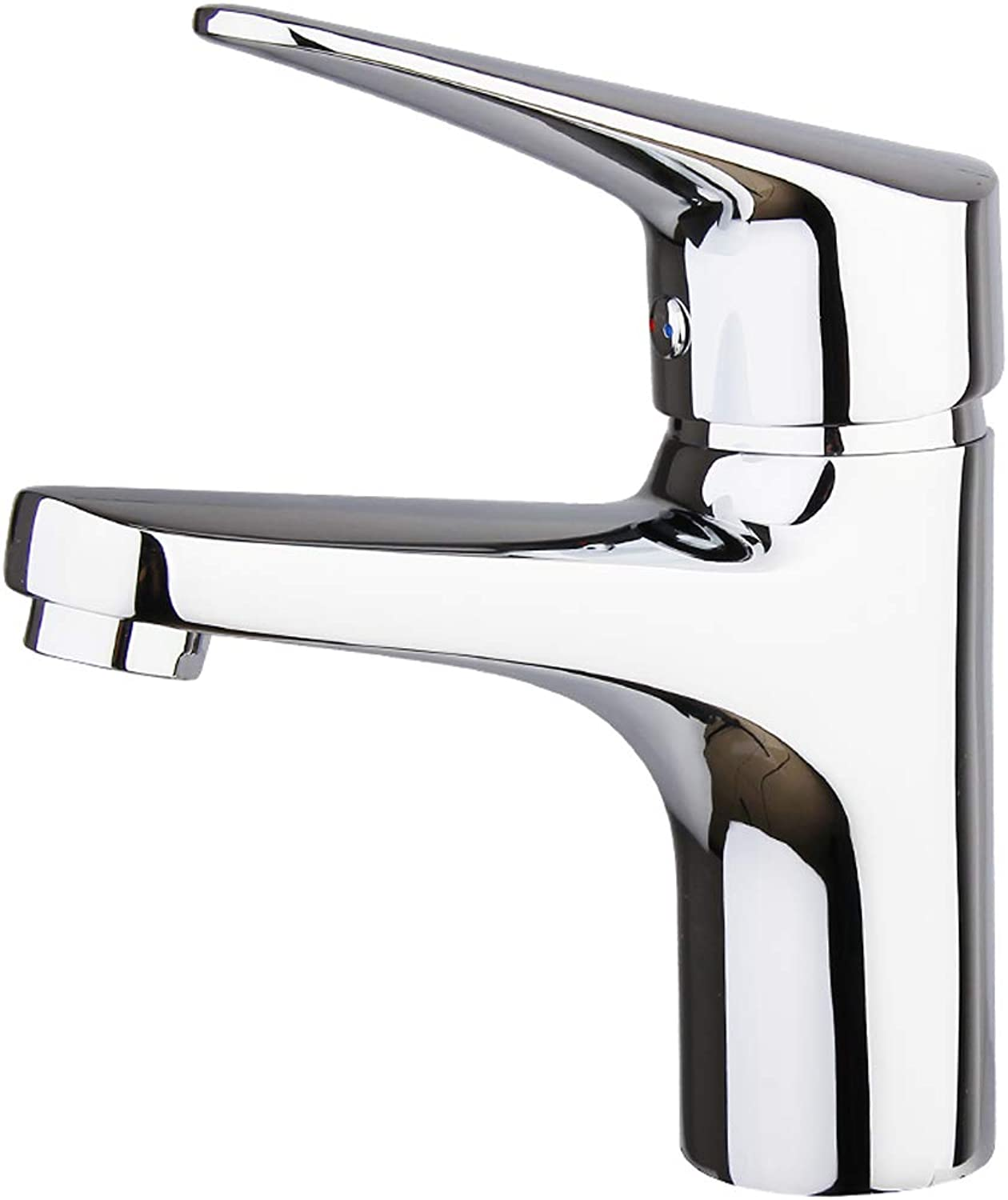 Ppigle Faucet ? Brass Thick Hot And Cold Basin Mixer ? Washbasin basin Faucet Durable Hot And Cold Double Control Adjustment Handle