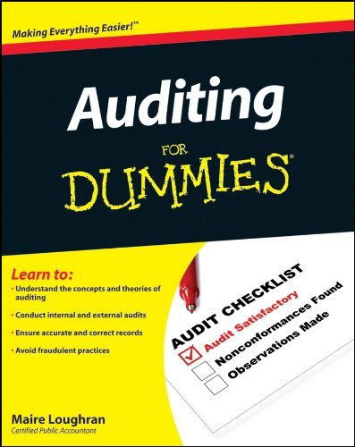 Compare Textbook Prices for Auditing For Dummies 1 Edition ISBN 9780470530719 by Loughran, Maire