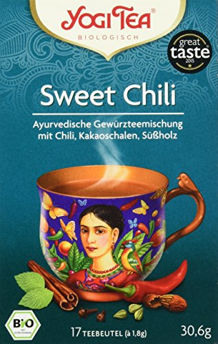 Yogi Tea Sweet Chili Bio, 3er Pack (3 x 31 g)