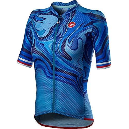 CASTELLI 4521047-458 Climber's 2.0 W Jersey Donna Azzurro Italia XS