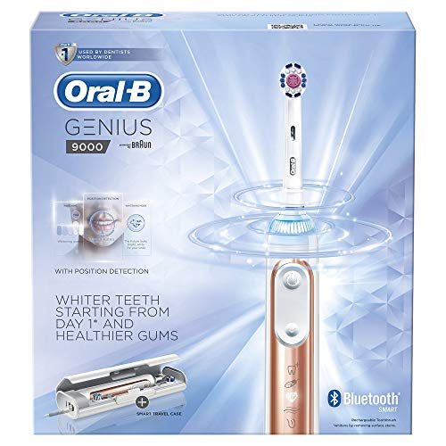 Oral-B GENIUS 9000 Elektrische Zahnbürste, Rose Gold