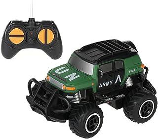 WZRYBHSD Elektrische Kinderauto Met Afstandsbediening 1:43 Off-road Voertuig Militair All Terrain Buggy Drift Racing 360 °...