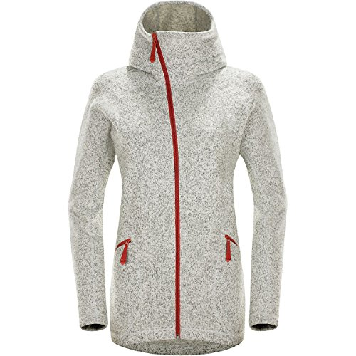 Haglöfs Saga Hood Women, S, Haze/Dusty Rust 3PP