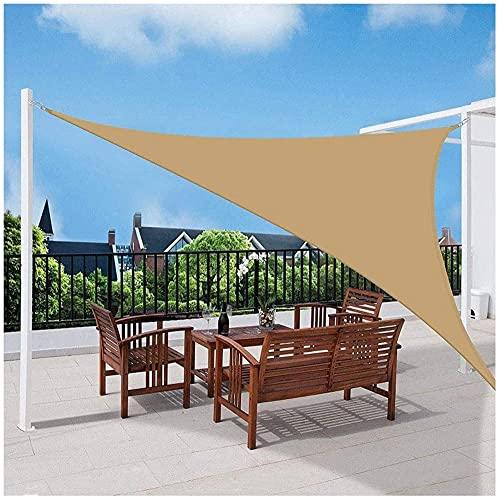 Red De Sombra Sun Shade Sail Toldo TriáNgulo Impermeable 95% Tipo De Sombreado Toldo del Toldo De La ProteccióN Solar para Gazebo Al Aire Libre Garden UV-2.4x2.4x2.4m