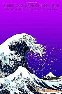 Thirty Six Views of Mt Fuji: Katsushika Hokusai's Famous Print Series in a Full Color Notebook - 6