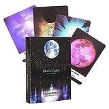 YGWL Moonology Oracle Cards,EIN 44-Karten-Deck Mysticism für Family Activity Brettspiel,Party...