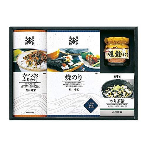 永井海苔 バラエティ詰合せ NV-25 【焼き海苔 焼海苔 焼きのり 缶詰 詰め合わせ ギフトセット】
