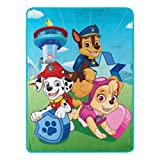 Kids Warehouse Paw Patrol Happy Day Super Plush Throw - 46' by 60'