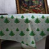 Toalha de mesa do Papai Noel Toalha de mesa impressa para una decoração da casa Capa para lareira A8 135x180cm