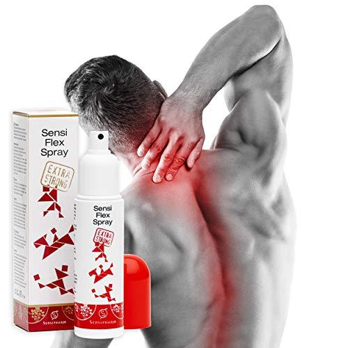 Sensi Flex Spray - Extra Strong 110 ml Muskel Spray/Wärmespray bei Schmerzen in Muskeln, Nacken, Schultern, Rücken, Beinen und Bauch.