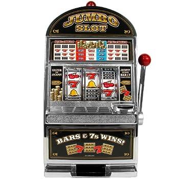 Trademark Poker Jumbo Slot Machine Bank - Replication