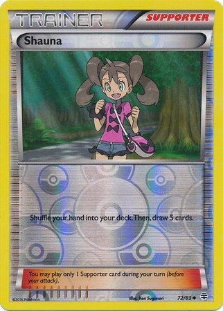 Pokemon - Shauna (72/83) - Generations - Reverse Holo