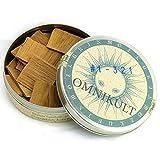 OMNIKULT A++ echtes Sandelholz zum Räuchern indisch (100% natur rein - ökologisch) -'Santalum Album' - edel Kernholz - Original Chandan Heartwood - indisches Räucherwerk - 15 g