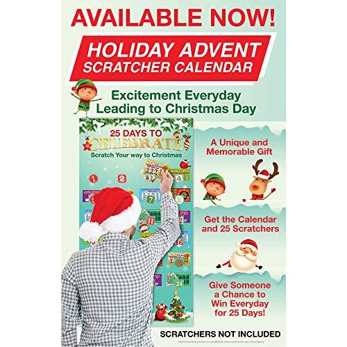 Holiday Advent Scratchers Calendar