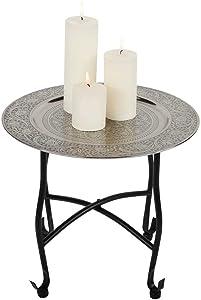 albena shop 73-105 Navin oriental tavolo da tè 40 x 36 cm tavolo pieghevole metallo