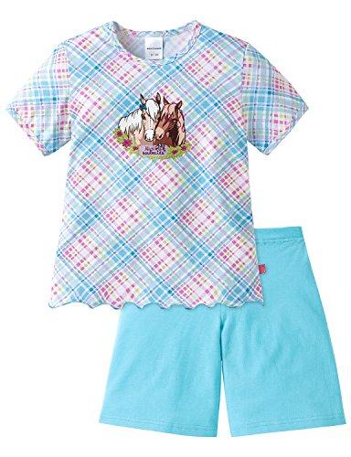 Schiesser Mädchen Zweiteiliger Schlafanzug NICI Md kurz, Gr. 104, Mehrfarbig (Multicolor 1 904)